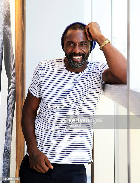 British actor Idris Elba attends the launch of his 'Superdry' clothing line in Sydney New South Wales