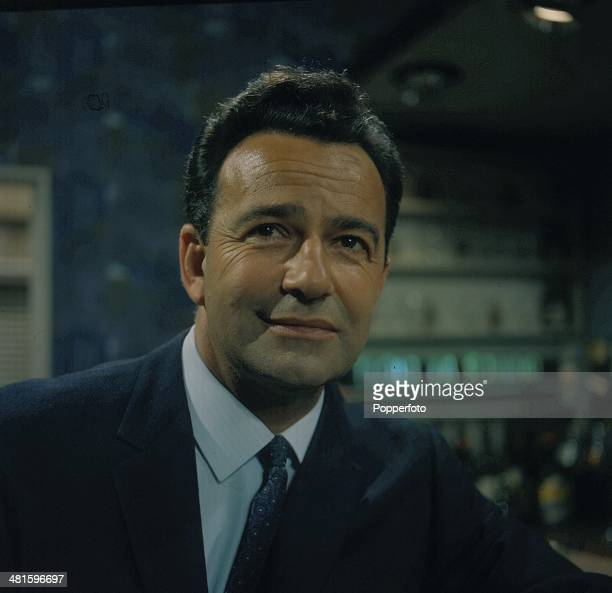1968 British actor John Bentley posed as 'Hugh Mortimer' in a scene from the television soap opera 'Crossroads' in 1968