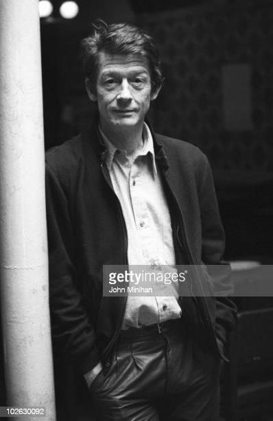 British actor John Hurt poses on March 28 1985