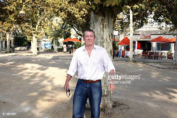 British actor John Nettles poses during a photocall for the 'Midsomer Murders' TV show at the 25th edition of the MIPCOM on October 6 2009 in Cannes...