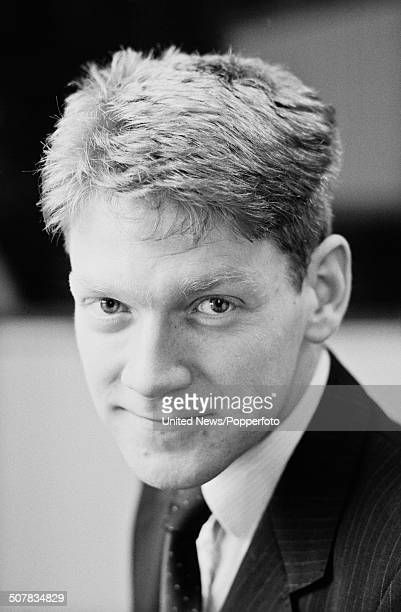 British actor Kenneth Branagh posed in London on 12th December 1985