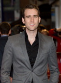 British actor Matthew Lewis arrives ahead of the BFI film festival showing of 'Wasteland' at the Odeon in Leicester Square in central London England...