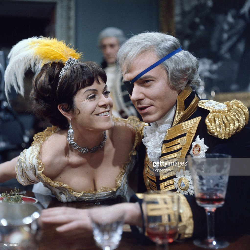 British actor Michael Bryant (1928-2002) and Welsh actress Rachel Roberts (1927-1980) perform together in a scene from the television drama series 'Play Of The Week - Nelson' in 1966.