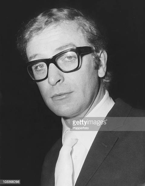 British actor Michael Caine in London 4th November 1968