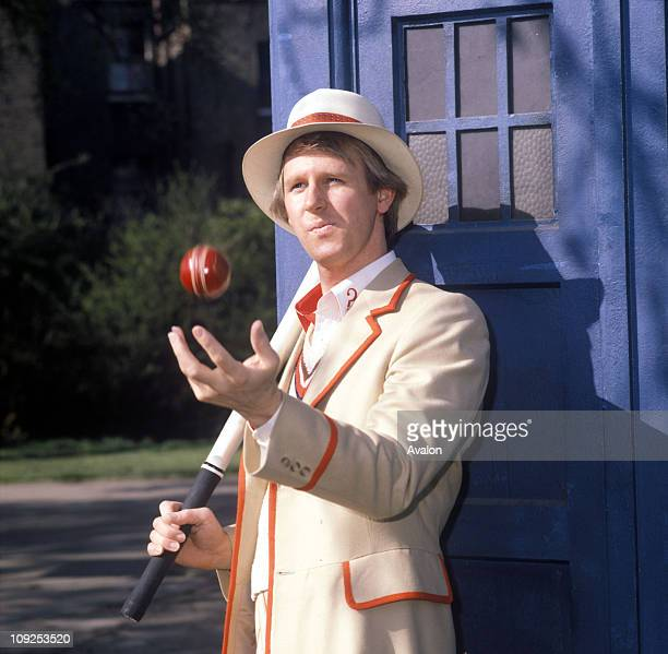 British Actor Peter Davison Who Plays The Doctor In The Bbc Television Series Dr Who