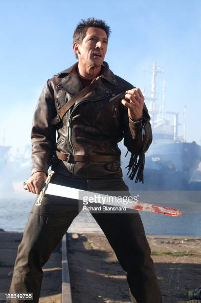 British actor Peter Wingfield as Methos in a scene from the film 'Highlander The Source' 2007