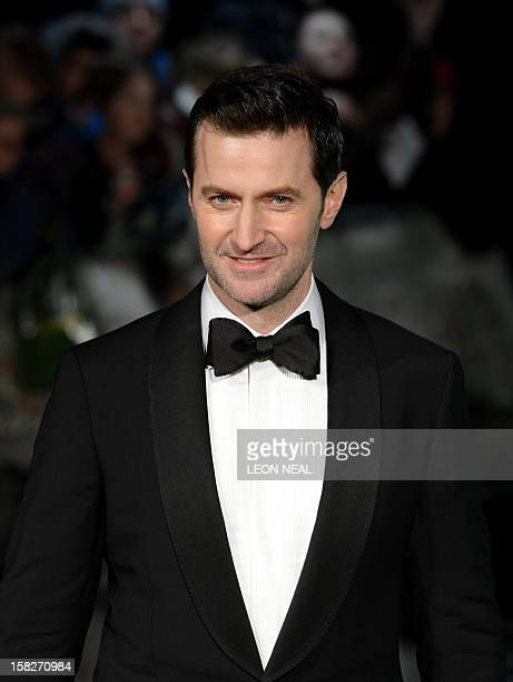 British actor Richard Armitage arrives at the European premiere of the first in the new trilogy of films based on the work of J R R Tolkien 'The...