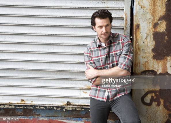 British actor Richard Armitage is photographed for Self Assignment on October 4 2013 in New York City