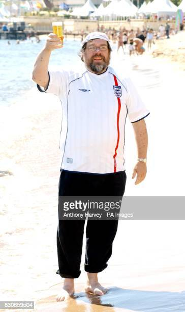 British actor Ricky Tomlinson during a photocall on the Grand Hotel beach to promote his new film 'Once upon a time in the Midlands' during the 55th...