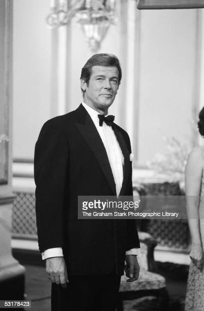 British actor Roger Moore as an SOE agent in the film 'The Sea Wolves The Last Charge of the Calcutta Light Horse' 1980