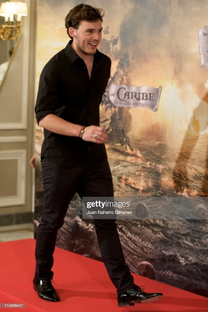 British actor Samuel Clafin attends 'Pirates Of The Caribbean: On Stranger Tides' (Piratas del Caribe: en Mareas Misteriosas) photocall at Villamagna Hotel on May 18, 2011 in Madrid, Spain.