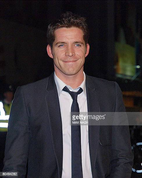 British actor Sean Maguire arrives for the British Premiere of 'Shine A Light' in London's Leicester Square on April 2 2008 The film by Martin...