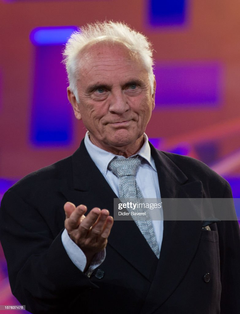 British actor <a gi-track='captionPersonalityLinkClicked' href=/galleries/search?phrase=Terence+Stamp&family=editorial&specificpeople=217602 ng-click='$event.stopPropagation()'>Terence Stamp</a> attends the tribute to Jonathan Demme at 12th International Marrakech Film Festival on December 6, 2012 in Marrakech, Morocco.