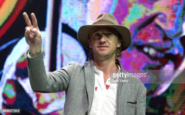 British actor Tom Felton attends Argentina ComicCon at Costa Salguero on December 8 2017 in Buenos Aires Argentina