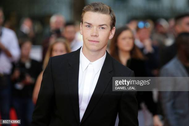 British actor Will Poulter poses for a photograph upon arrival at the European premiere of 'Detroit' in London on August 16 2017 / AFP PHOTO / Daniel...