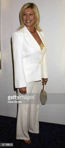 British actress Amanda Redman attends the 'Tio Pepe Carlton London Restaurant Awards 2003' at the Great Room Le Meridian Grosvenor House on March 10...