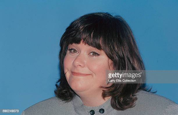 British actress and comedian Dawn French in a photocall for the BBC Two television series 'Murder Most Horrid' UK April 1996