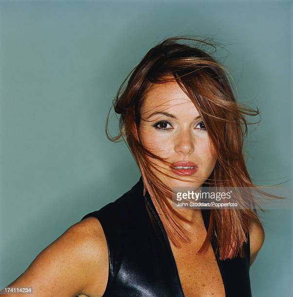 British actress and TV presenter Amanda Holden circa 1995