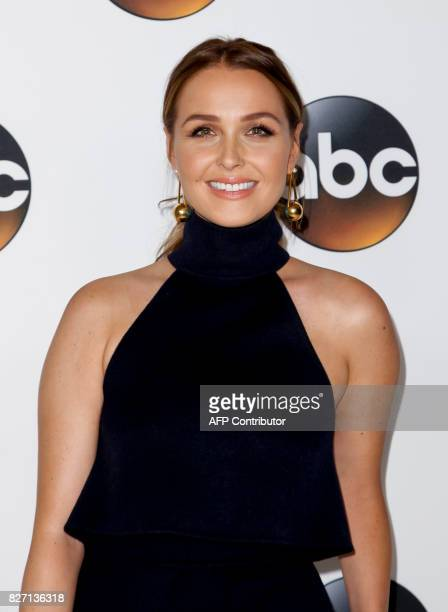 British actress Camilla Luddington attends the 2017 Summer TCA Tour Disney ABC Television Group at The Beverly Hilton Hotel in Beverly Hills...