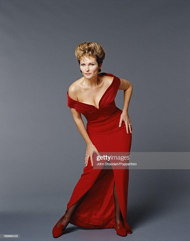 British actress Fiona Fullerton, 1994.