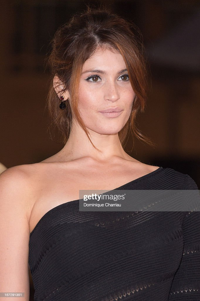 British actress Gemma Arterton arrives for the tribute to Hindi cinema at the 12th Marrakech International Film Festival on December 1, 2012 in Marrakech, Morocco.