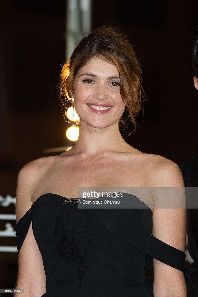 British actress Gemma Arterton arrives to the awrard ceremony of the 12th International Marrakech Film Festival on December 8, 2012 in Marrakech, Morocco.