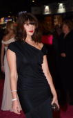 British actress Gemma Arteton arrives in London's Leicester Square for the World Premiere of her latest film 'St Trinian's 2 The Legend of Fritton's...