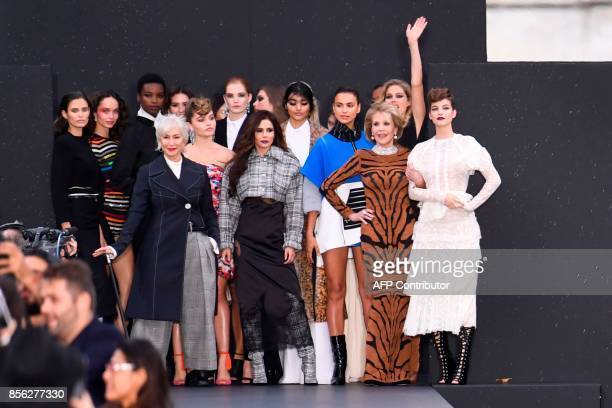 British actress Helen Mirren US actress Jane Fonda British singer Cheryl Cole Russian model Irina Shayk Dutch model Doutzen Kroes Brazilian model...