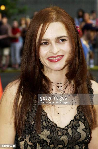 British actress Helena Bonham Carter who stars in the movie arrives at world premiere of 'Planet of the Apes' at the Ziegfeld theatre in New York *...