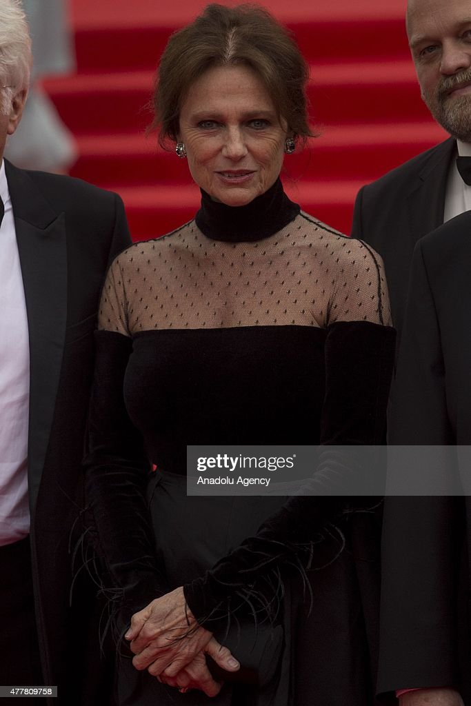 British actress Jacqueline Bisset attends the opening ceremony of the 37th Moscow International Film Festival in Moscow Russia on June 2015