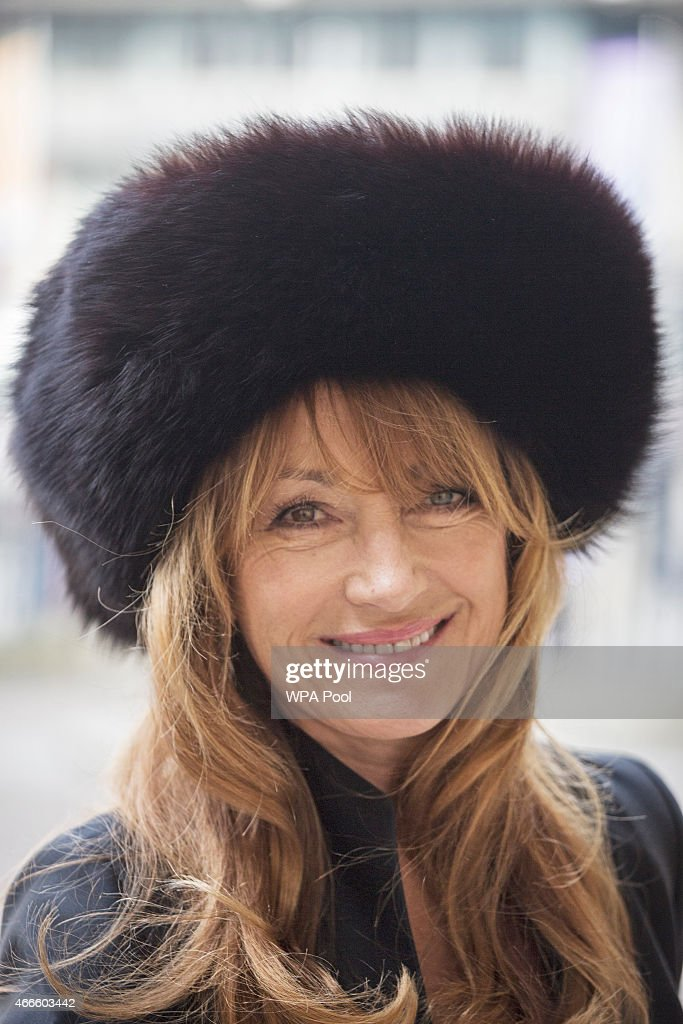 British actress <a gi-track='captionPersonalityLinkClicked' href=/galleries/search?phrase=Jane+Seymour+-+Actress&family=editorial&specificpeople=203060 ng-click='$event.stopPropagation()'>Jane Seymour</a> attends a service of thanksgiving for the life and work of Lord Attenborough CBE at Westminster Abbey on March 17, 2015 in London, England.