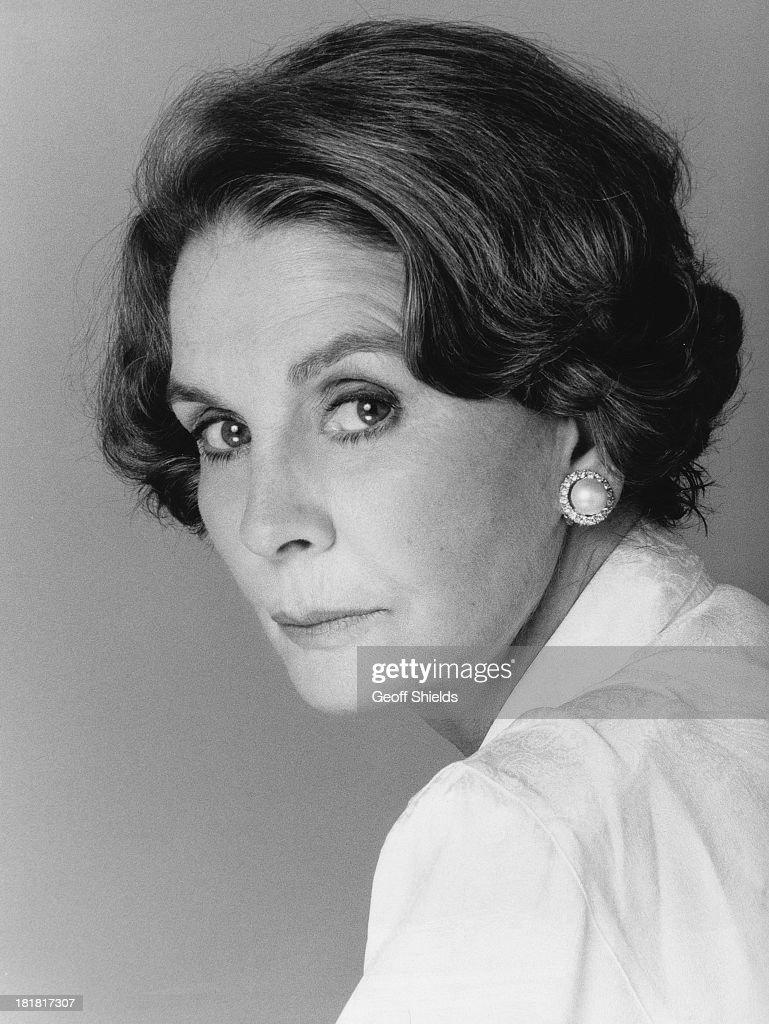 British actress Jean Simmons (1929 - 2010), London, 1988.