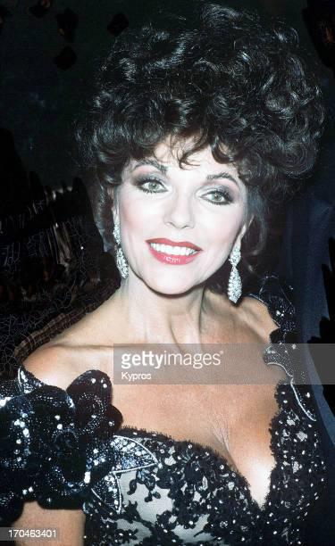 British actress Joan Collins circa 1990