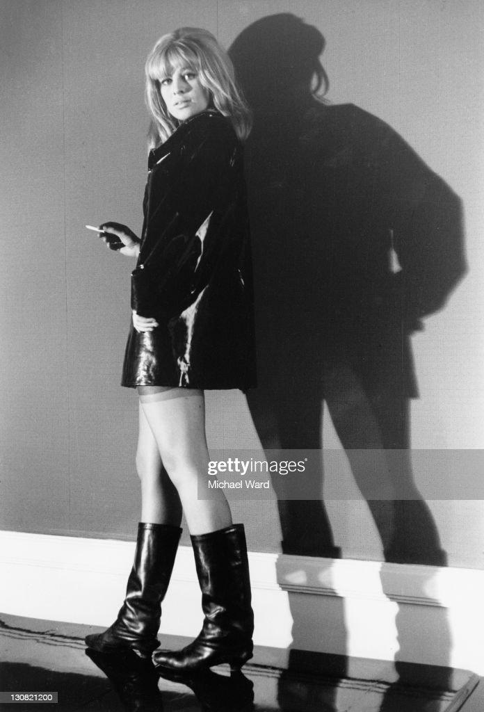British actress Julie Christie, Birmingham, 22nd November 1963.