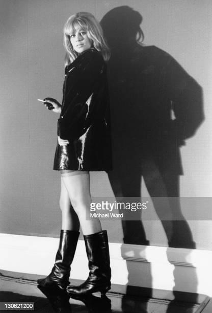 British actress Julie Christie Birmingham 22nd November 1963