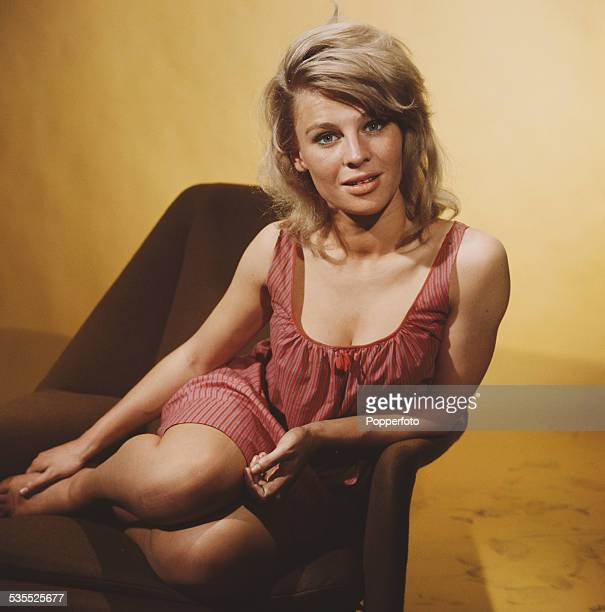 British actress Julie Christie who plays Andromeda in the science fiction television drama A for Andromeda posed in 1962
