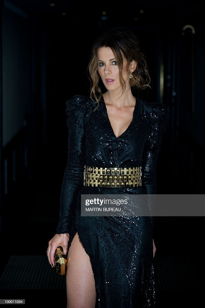 British actress Kate Beckinsale poses during the 63rd Cannes Film Festival on May 17, 2010 in Cannes.