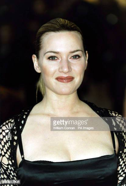 British actress Kate Winslet during The Orange British Academy Film Awards at the Odeon in London's Leicester Square The ceremony has been brought...
