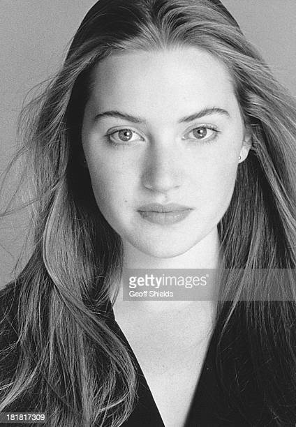 British actress Kate Winslet London 1992
