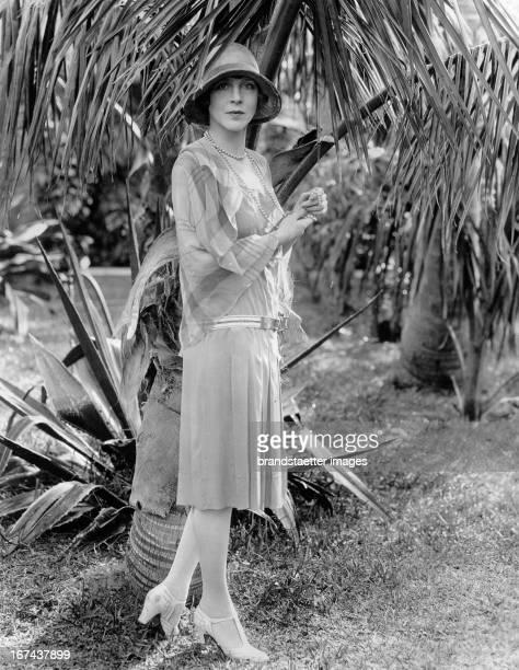 British actress Lady Diana Cooper Nassau About 1930 Photograph Die britische Schauspielerin Lady Diana Cooper Nassau Um 1930 Photographie