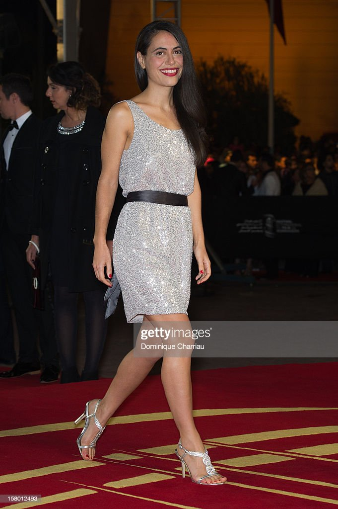 British actress Lucy Mulloy arrives to the awrard ceremony of the International Marrakech Film Festival on December 8, 2012 in Marrakech, Morocco.