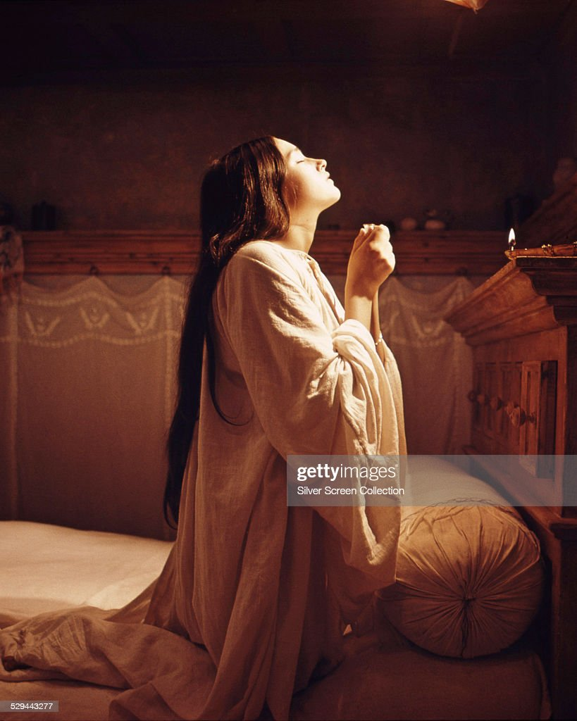 romeo and juliet stock photos and pictures getty images british actress olivia hussey as juliet in romeo and juliet directed by franco zeffirelli