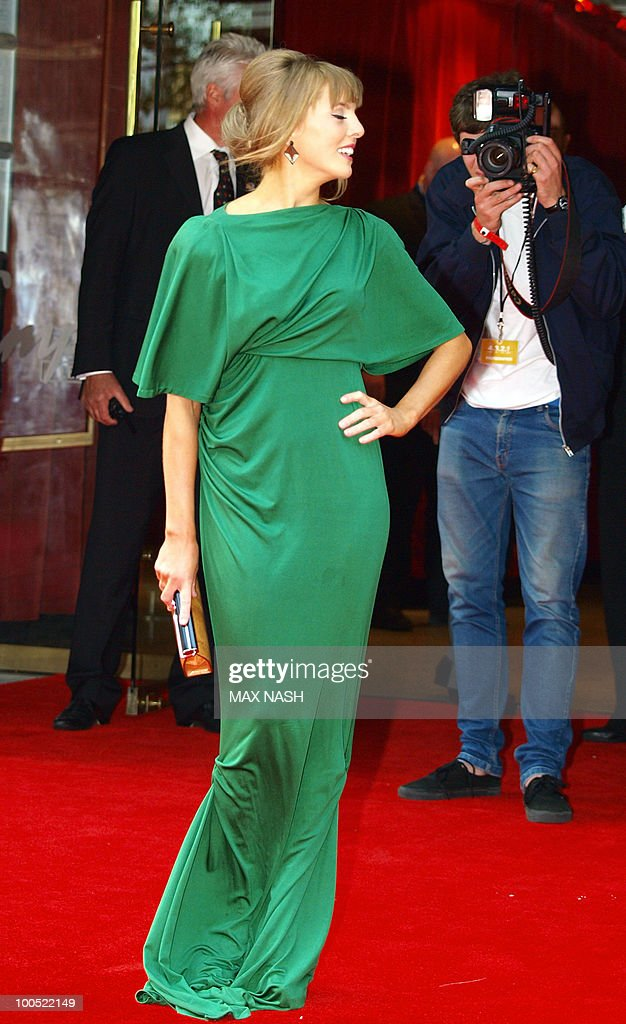 British actress Ophelia Lovibond arrives at the World Premiere of her latest film, '4.3.2.1' in London's Leicester Square on May 25, 2010. AFP Photo/MAX