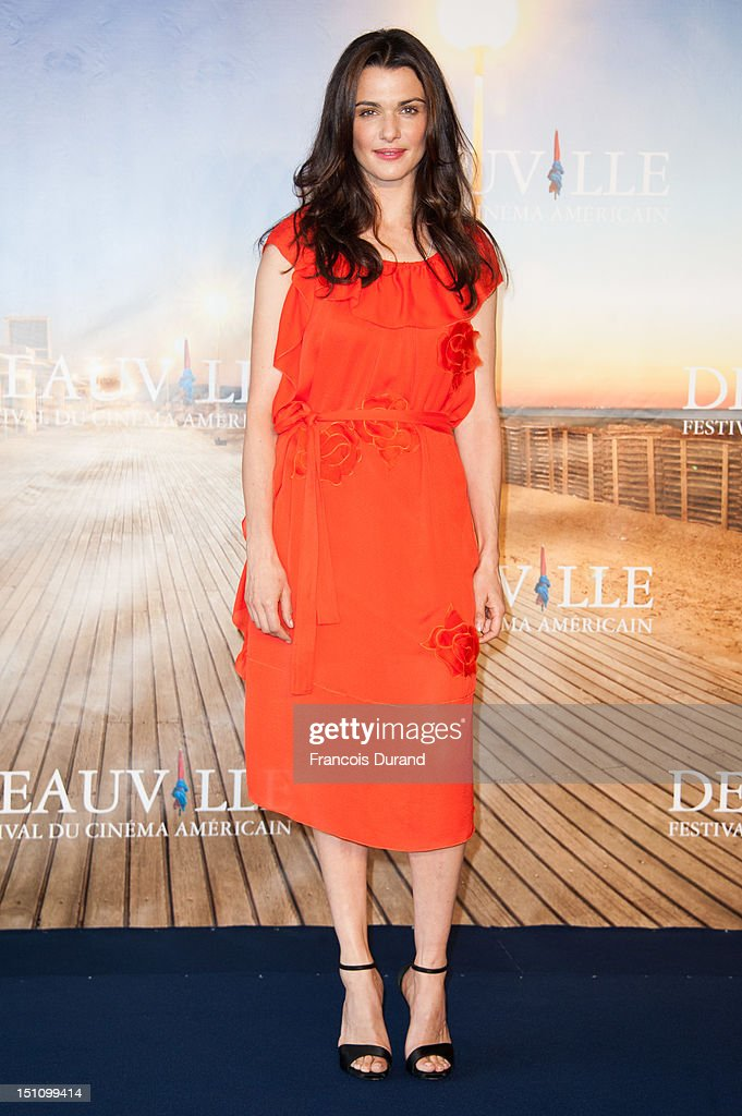 British actress Rachel Weisz poses at 'The Bourne Legacy' Photocall during 38th Deauville American Film Festival on September 1, 2012 in Deauville, France.