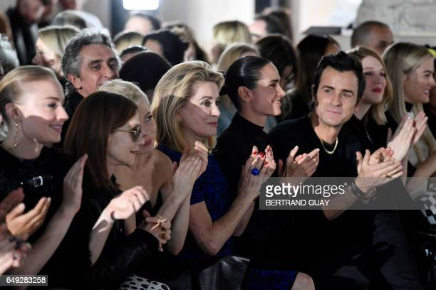 British actress Sophie Turner French actress Isabelle Huppert US actress Michelle Williams French actress Catherine Deneuve US actress Jennifer...