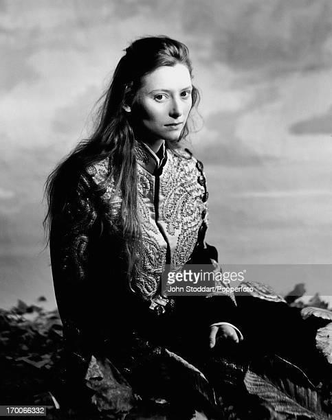 British actress Tilda Swinton 1986
