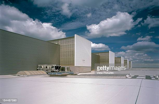 British Aerospace Factory Broughton United Kingdom Architect Faulkner Browns British Aerospace Factory Cladding Roofing