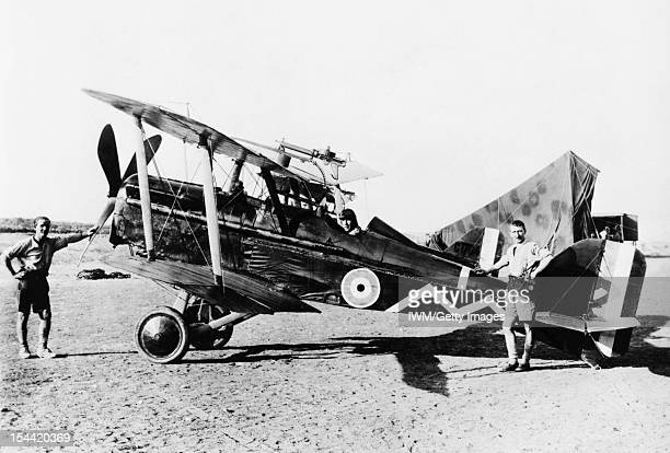 British Aircraft Of The First World War 19141918 SE5a singleseat scout of No 111 Squadron Royal Flying Corps in Palestine circa 1916