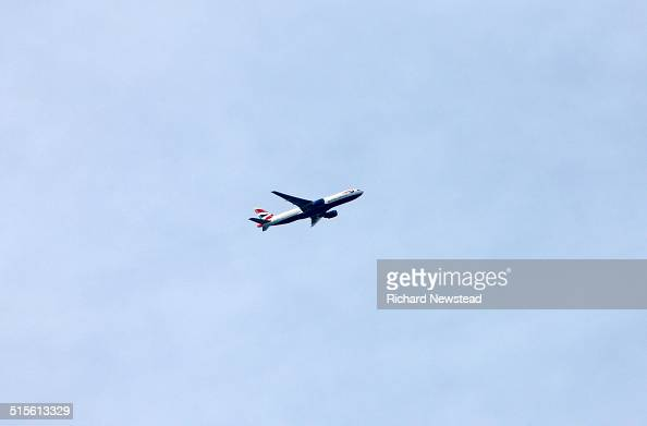 British Airways airliner Boeing 777300 September 2014