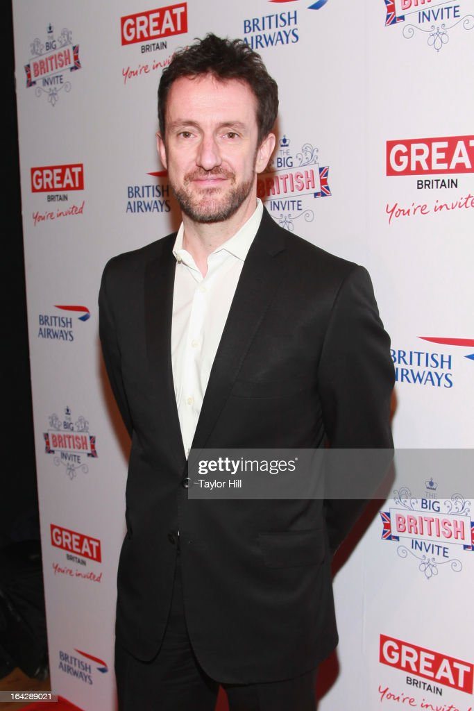 British Airways Executive Vice-President for the Americas Simon Talling-Smith attends The Big British Invite launch at 78 Mercer Street on March 21, 2013 in New York City.